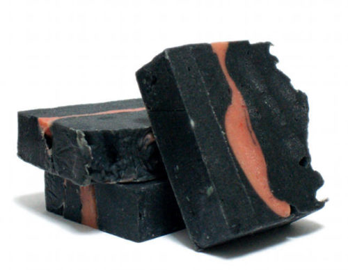 Black clay soap recipe. Learn how to make this Naughty Kitty cold process soap recipe with Australian black clay for your daily skin care routine.