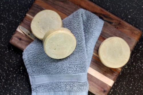 How to make eco friendly zero waste shaving soap recipe for your eco friendly lifestyle.