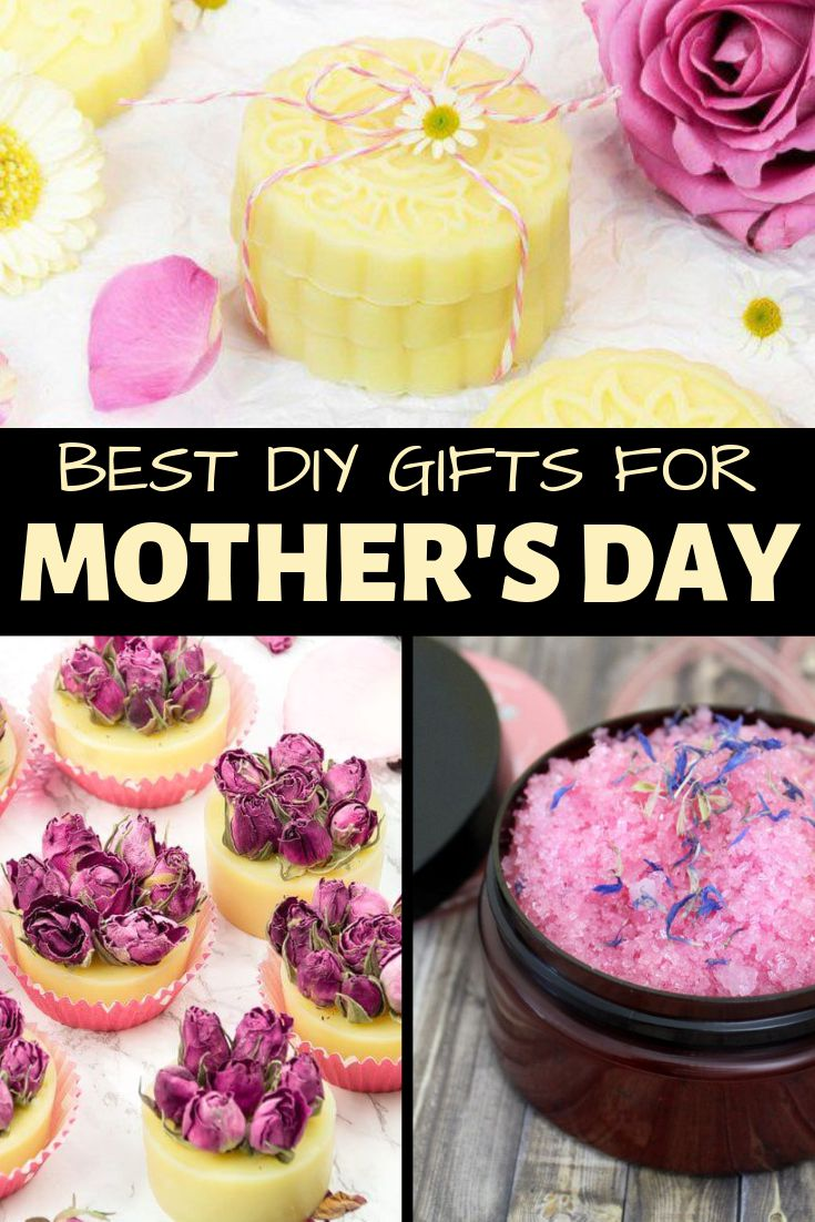 Best Mother's Day Gifts & Ideas to DIY for Your Mom. Wow your mom this Mother's Day with this collection of the best Mother's Day gifts. Make mom something special this year by hand with this collection of 18 DIY Mother's day gift ideas.