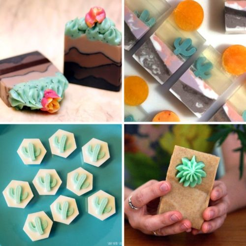 Handmade soaps on Etsy. Creative cactus soaps for succulents lovers. If you love cacti, then check out these amazing artisan cactus soaps for handmade gifts or DIY inspiration.