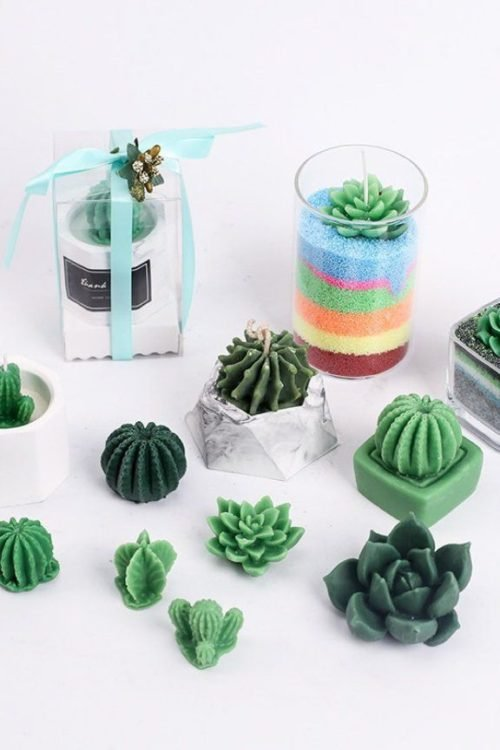 Cactus Soap Molds for Making DIY Cactus Soaps