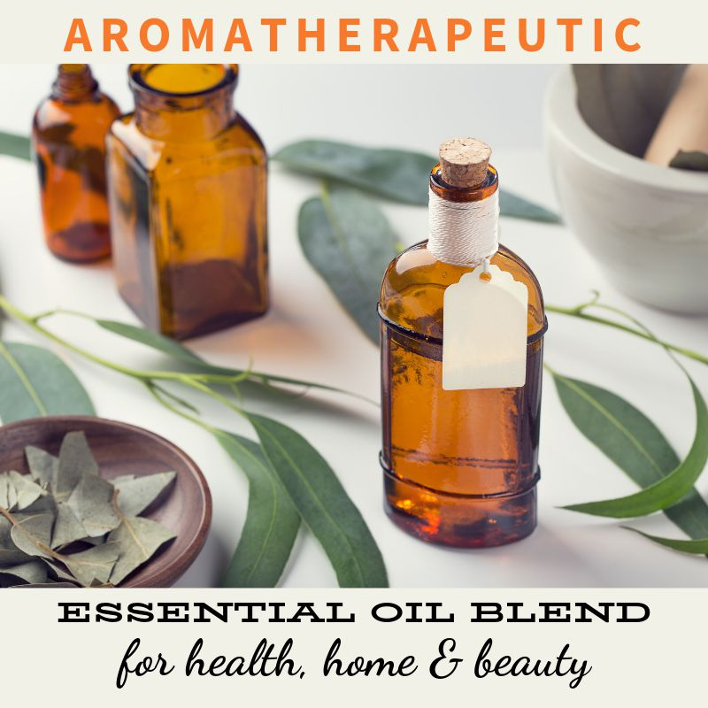 This natural aromatherapeutic eucalyptus & orange essential oil blend recipe doesn't just smell wonderful. It actually can be used in a number of ways for health, home and beauty. Learn how to make a simple eco-friendly linen spray & deodorizer, surface sanitizer, smoothing hair shine spray & diffuser blend for stuffy noses. As well as how to add this essential oil blend to your homemade soap & natural skin care recipes