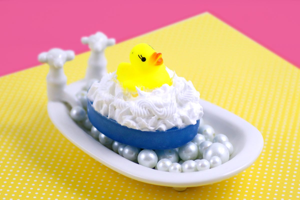 Learn how to make fun DIY rubber ducky soaps for children's gifts or party favors with this easy rubber ducky soap tutorial. They're the perfect bath time treat for young fans of Sesame Street!