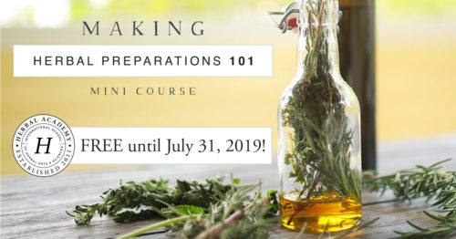 Free Online Herbalist Course. Herbal education offers a number of solutions for living a more natural, healthy lifestyle. With a little help from The Herbal Academy, you'll learn exciting new information and skills that can follow you throughout your entire lifetime. Discover ways that herbs are used and prepared for everyday use. And start making your own herbal recipes at home. All through their free online herbalist course!