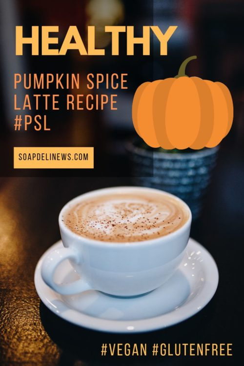 Pumpkin spice latte recipe. A 2-Ingredient healthy, gluten free vegan pumpkin spice latte for fall. This healthy dairy and gluten free pumpkin spice latte recipe is the perfect treat for fall. A vegan latte packed with healthy fats from coconut and almonds, this pumpkin spice latte makes a quick and easy breakfast swap whether you're running behind from back to school or just feeling run down.