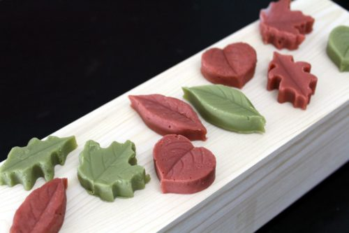 Autumn Leaf Soap Embeds for Autumn Harvest Soap