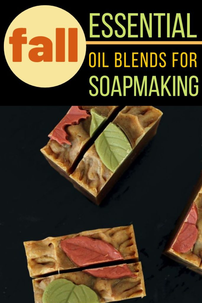 guide for blending fall essential oil scents soapmaking with recipe