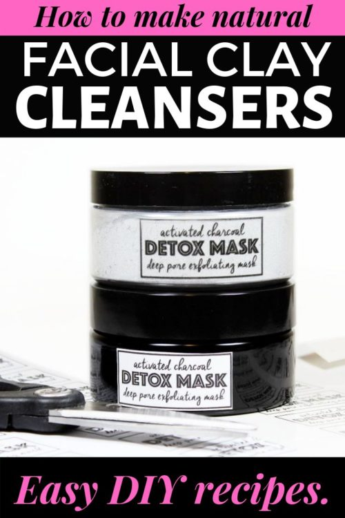 Cleansing facial clay recipes. Clay facial cleansers are a great natural soap free alternative for a homemade daily face wash. Formulated with clay as a primary ingredient, the primary purpose of these facial cleansers is to remove impurities and toxins from the skin. Depending on the clay used, they can also help remove excess oil and dry out acne breakouts for improved healing times. A simple wash off homemade daily face wash, DIY clay cleansers also double as a facial mask.
