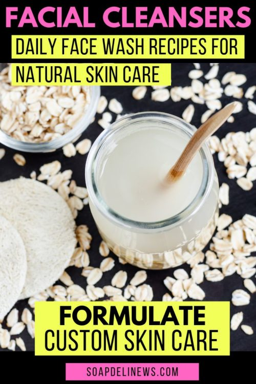 Homemade Daily Face Wash Recipes for Your Natural Skin Care Routine. It's important to care for your skin. A homemade daily face wash is an easy way to do just that. There are a number of benefits of making your own homemade daily face wash. Not only is it an effective way to cleanse your skin as part of your natural daily beauty regimen, it can also save you money.