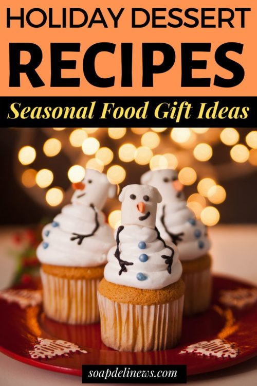 Holiday dessert recipes. Seasonal winter Christmas treats to give as last minute DIY holiday gifts. Easy food gift ideas for the holiday season - with or without alcohol! Six boozy Christmas dessert ideas and five fabulous non-alcoholic holiday treats to gift to friends, family, neighbors and coworkers this holiday season.
