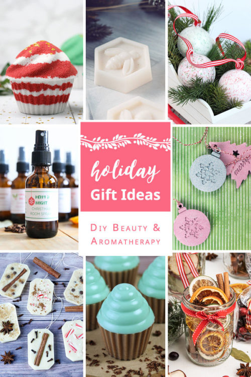 Scented DIY Holiday gifts. Make fragrant DIY Christmas gifts for friends & family this holiday season with this collection of 8 DIY holiday gift ideas from top bloggers. DIY simmering potpourri, essential oil ornaments, mint chocolate soap cupcakes, Christmas ornament bath bombs, holiday air fresheners & room sprays and honey & goat milk soap! Learn how to craft handmade holiday gifts with these essential oil scented recipes now!