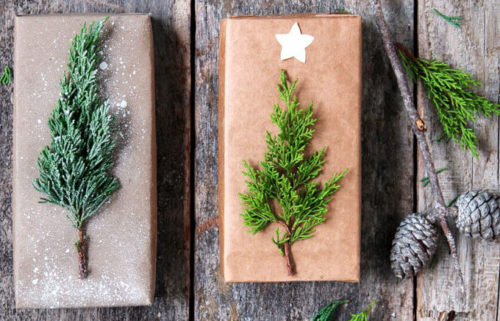 Eco-friendly natural ways to wrap gifts for Christmas