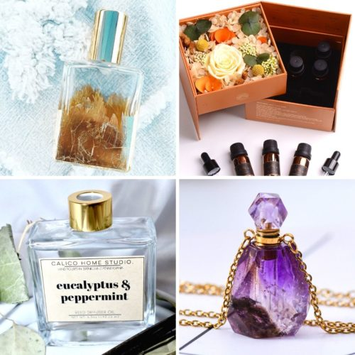 Essential oil gifts. Give the gift of natural fragrances with this lovely collection of essential oil gift ideas from Etsy.