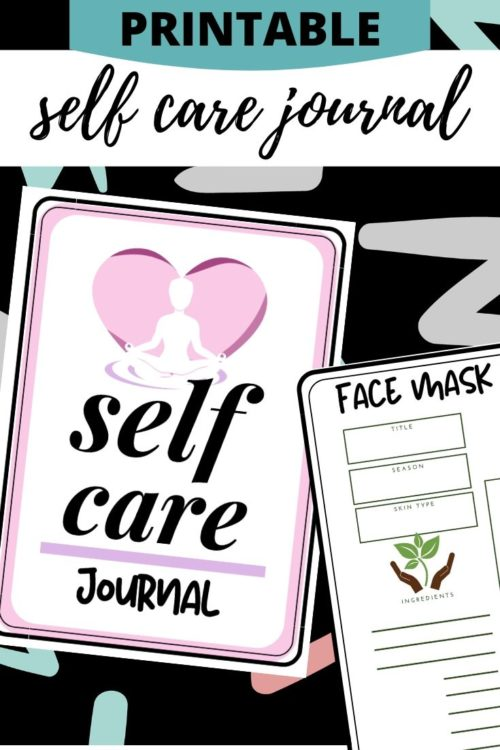 free printable self care journal pages ideas prompts