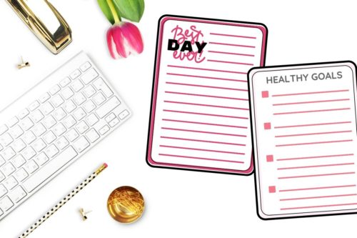 printable self care journal pages