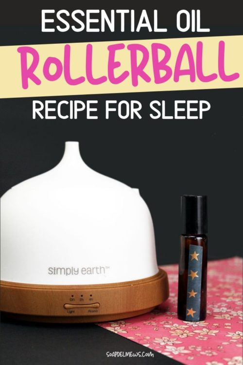 Sleep Roller Blend Recipe: Best Essential Oil Blend for Sleep plus tips on how to get a good night's sleep. Stop your insomnia with these natural alternatives for sleep. An easy 2-ingredient DIY sleep rollerball recipe with a simple essential oil blend for sleep. A natural way to promote restful sleep, this kid safe essential oil blend for insomnia can be used if pregnant or nursing. Kick your insomnia for good with this natural sleep remedy that uses aromatherapy to promote sleep.