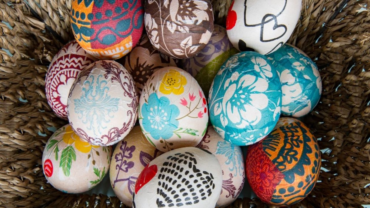 How To Decorate Easter Eggs Without Dye Creative Easter Egg Designs