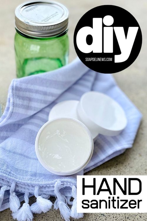 DIY hand sanitizer gel recipe with alcohol. Learn how to make an effective, 2-ingredient DIY hand sanitizer that contains the minimum recommended 60% alcohol for use as a protective measure against the flu virus. Two ways to make a homemade hand sanitizer recipe using either isopropyl alcohol or 150 proof vodka for natural health and wellness. A holistic approach to fighting cold and flu germs when hand washing isn't an option. Easy natural alternative to commercial hand sanitizers.