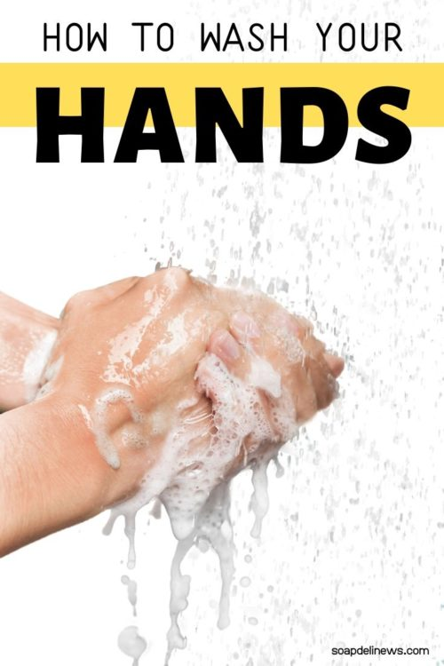Tips to Prevent Flu Infection. Plus Proper Hand Washing with Soap and Water. Washing your hands is still the best way to protect yourself from the flu. Get tips for washing your hands correctly with soap and water. Plus how to make a hydrating Bastille soap recipe that won't dry out your hands like liquid hand soap or alcohol based hand sanitizers.