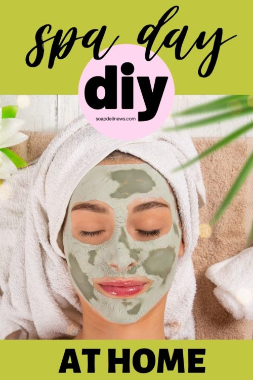How to have a spa day at home. Easy holistic DIY beauty and skin care recipes for a spa day at home. The perfect answer to self care during times of stress. You don't have to spend a fortune to enjoy luxury skin care and natural beauty products. Instead you can make your own easy holistic beauty and skin care recipes for a spa day at home! Natural beauty and skin care recipes that are easy to make, for the perfect clean beauty products to enjoy during your spa day at home.