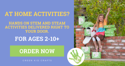 Green Kids Crafts: At Home Kids Activities Delivered to Your Door