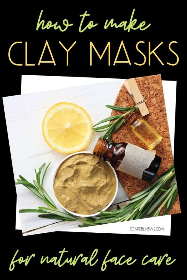 DIY Clay Mask Recipes. How to Make Spa Quality Clay Masks at Home for Clean Beauty. Make DIY clay mask recipes for a spa quality facial to exfoliate & rejuvenate skin. Plus learn about the different types of clay and how to use them for your skin type. Discover the natural skin care benefits of DIY clay masks today plus great clay facial mask recipes to add to your natural green beauty regimen. DIY clay masks exfoliate, brighten, and absorb toxins and impurities from your skin. #diyclaymask