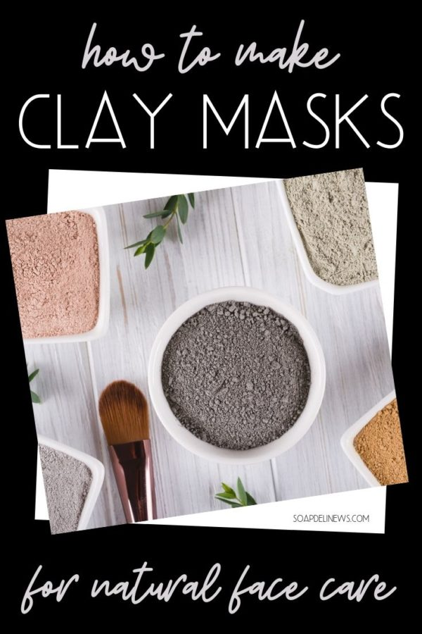 DIY clay mask recipes for natural skin care diy beauty glowing skin