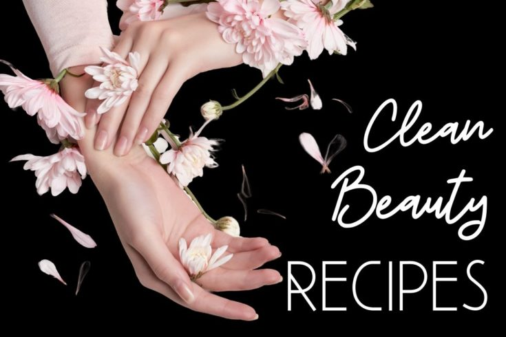 Clean beauty recipes. Learn how to make DIY clean beauty products for your natural skin care routine. Clean beauty products are those formulated without ingredients that may be potentially toxic or have harmful side effects, using as few chemicals as possible. Ingredients should be as natural as possible, except where preservatives are necessary, and ethically sourced. Clean beauty products may contain herbs, plant extracts, phytonutrients and antioxidants, and essential oils.