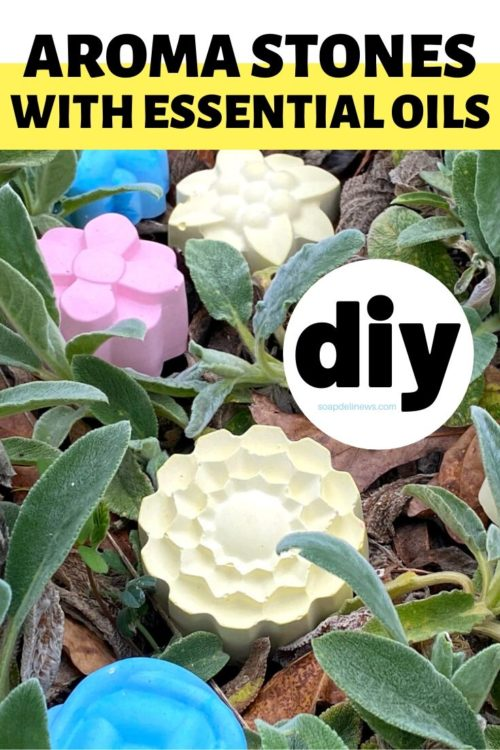 Easy DIY essential oil aroma stones. A simple craft project for making an essential oil diffuser using plaster of Paris. Not only are these DIY plaster aroma stones perfect for adding fragrance to your home, they're also and easy kids craft that the kids can make for homemade Mother's Day gifts. Learn how to make my DIY plaster aroma stones for your favorite essential oil blends, try out my favorite essential oil blend and learn how to make a relaxing aromatherapy essential oil blend.