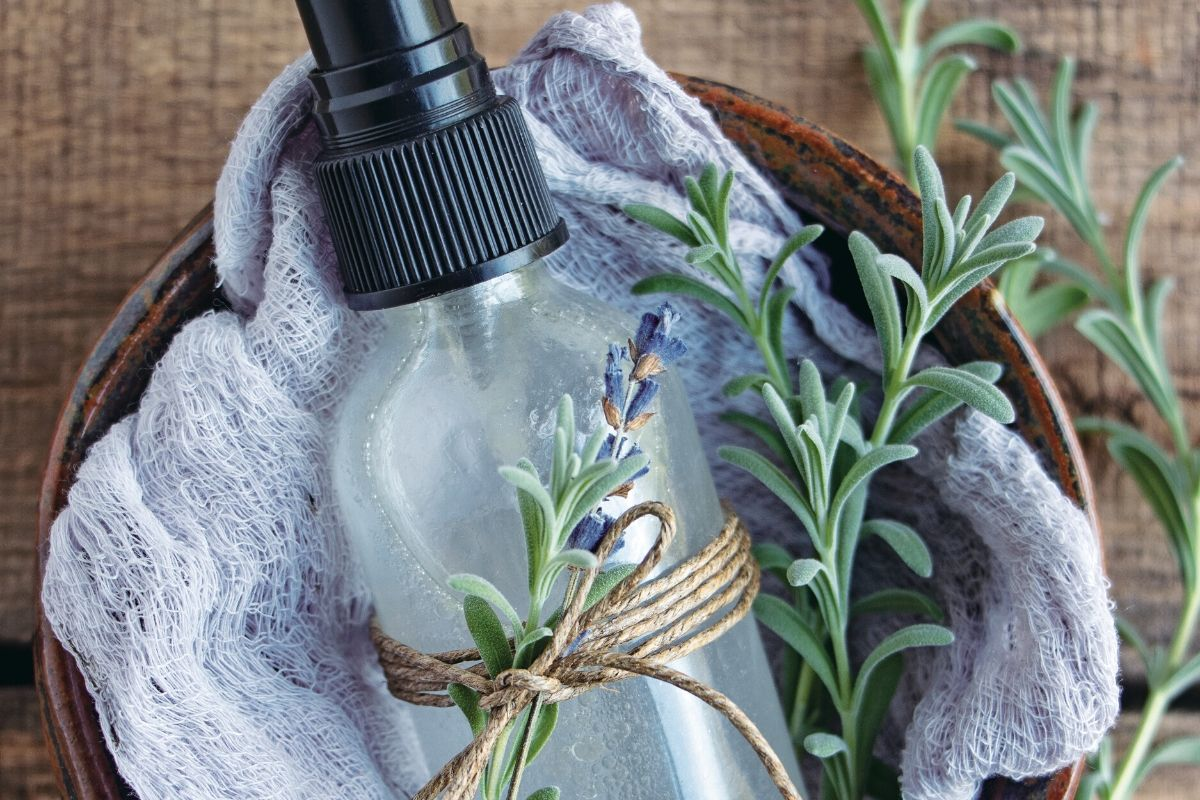 This DIY hair detangler with essential oils is a simple beauty tip to remedy tangled hair. The detangling spray recipe is so easy & uses just 4-ingredients.