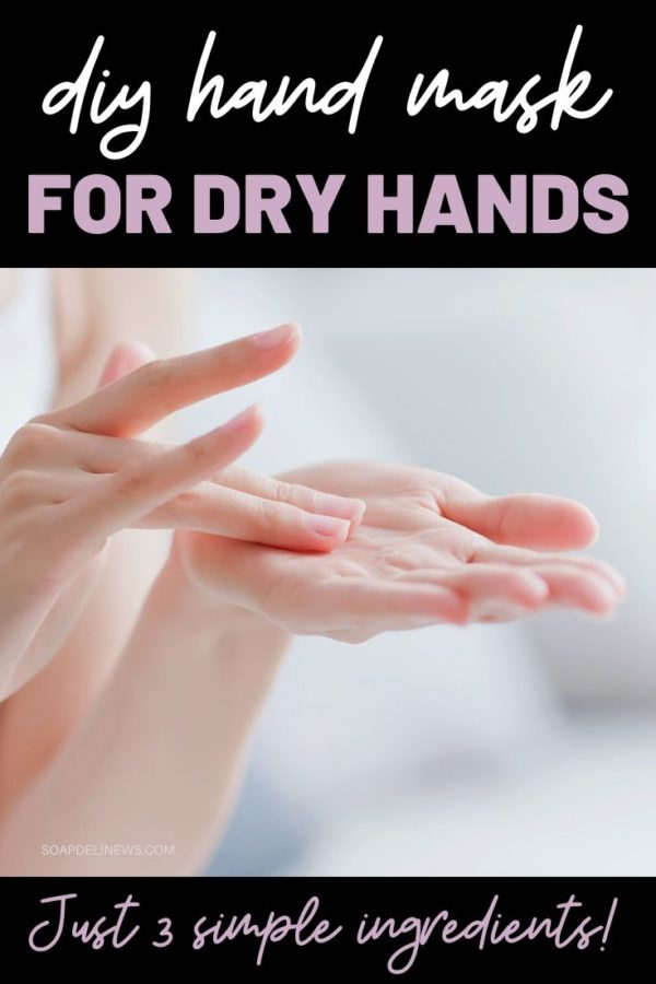 Moisturizing DIY Hand Mask for Dry Skin: Best hand mask for dry hands. Whether you have dry hands due to dry climate, the season or excessive hand washing, this DIY hand mask for dry skin is a simple, easy way to hydrate dry skin and help to restore the appearance of skin health. Keep reading to learn how to make an easy DIY hand mask recipe to nourish and hydrate your dry hands throughout the year, when your skin needs extra attention. Plus hand care tips on caring for dry skin.