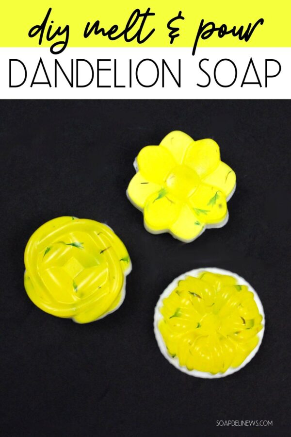 How to make dandelion soap. This easy melt and pour dandelion soap recipe with essential oils is a simple way to incorporate dandelion infused oil into your everyday natural skin care routine. This DIY dandelion soap is the perfect melt and pour soap recipe for beginners, and a fun way to experience foraging and learn about natural herbs this spring. Discover the joy of soap making with handmade dandelion soap recipe and learn about the health and skin care benefits of dandelion.