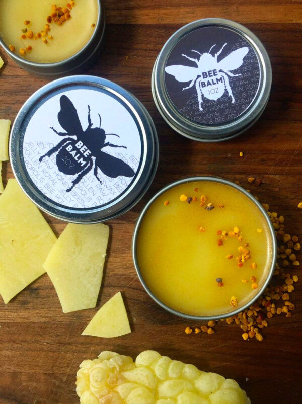 Organic Bee Balm with Royal Jelly, Bee Pollen and Propolis from Humm House (An Egyptian Magic Cream Dupe)