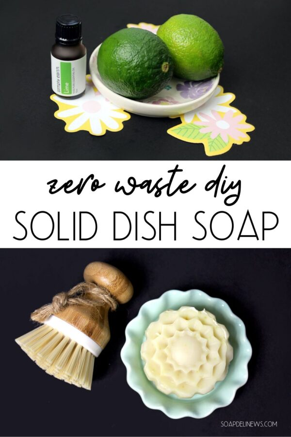 Craft eco-friendly solid dish soap bar for your natural cleaning routine. This homemade solid dishwashing soap recipe won't harm the environment and reduces plastic waste in your daily cleaning routine. Discover how to make zero waste DIY solid dish soap to naturally clean dishes and cut kitchen grease without surfactants. Learn the best method for making DIY solid dish soap at home and how it can save you money on your natural cleaning routine. A frugal homemaking hack for everyday life.