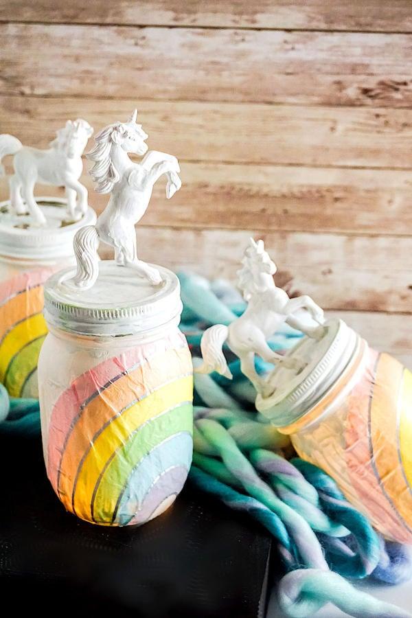 Mason Jar Night Light Diy Unicorn Night Light For Unicorn Lovers