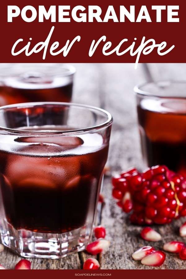 Easy pomegranate recipes and Christmas and New Years drinks this holiday season. This pomegranate cider recipe is a flavorful twist on spiced apple cider. Make this delicious apple pomegranate cider recipe for your next holiday party. This warm winter drink recipe is easy to make on the stove top or crockpot. You will love the flavors of pomegranate, apple cider and warm spices that give it a complex flavor. For the adults, add some rum or whiskey for a warm alcoholic winter drink.