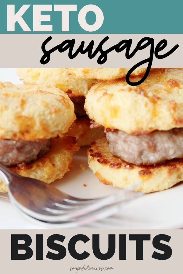 keto sausage biscuits with almond flour biscuits low carb breakfast ideas (1)